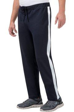 plantier broek met elastische band blauw
