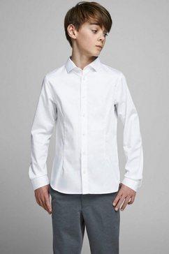 jack  jones junior overhemd weiß