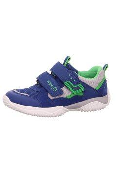 superfit sneakers storm met wijdtemaatsysteem: middel blauw