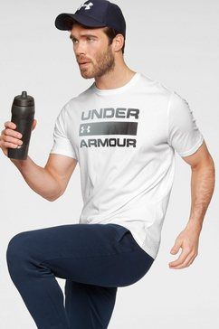 under armour t-shirt »team issue wordmark short sleeve« wit