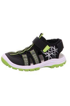 superfit sandalen »tornado« zwart