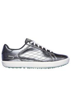 skechers performance fitnessschoenen »golfschuh drive - shine« zilver