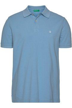 united colors of benetton poloshirt blauw