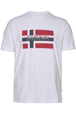 napapijri t-shirt wit