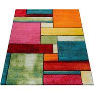 paco home vloerkleed brilliance 661 korte pool met 3d-motief, woonkamer multicolor
