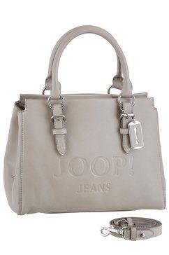 joop jeans tas »lettera peppina handbag shz« beige