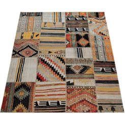 paco home loper »artigo 406«, paco home, rechthoekig, hoogte 11 mm, machinaal geweven multicolor