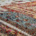 paco home vloerkleed »artigo 433«, paco home, rond, hoogte 11 mm, machinaal geweven multicolor