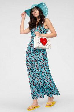 love moschino maxi-jurk blauw