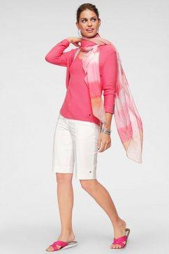 monari gebreide trui roze