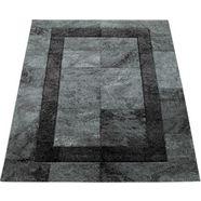 paco home loper »diamond 668«, paco home, rechthoekig, hoogte 18 mm, machinaal geweven grijs