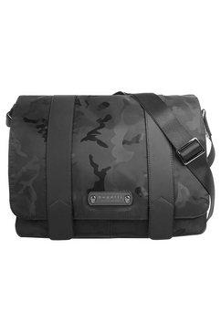 bugatti messengerbag »camo« zwart