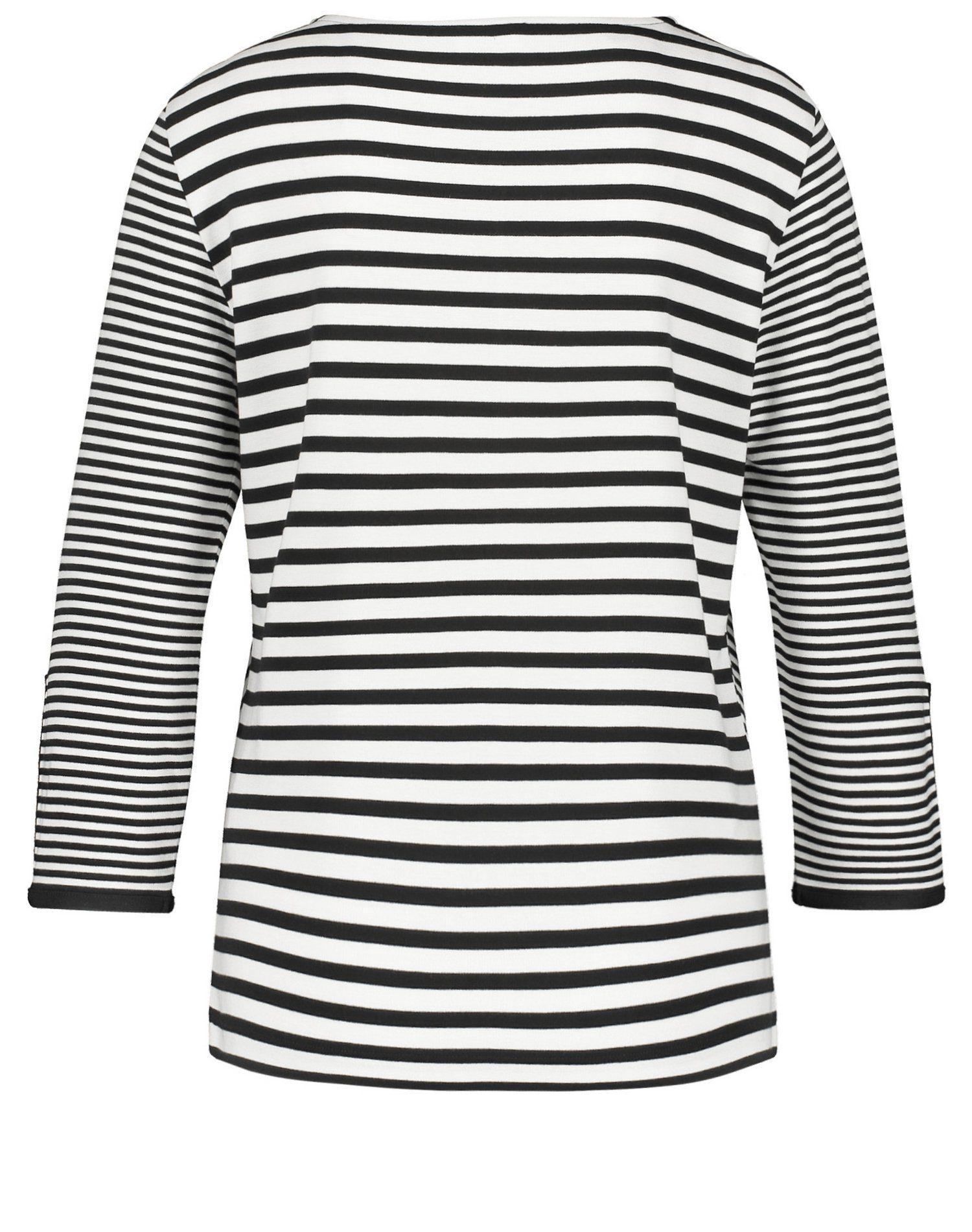Gerry Weber T-shirt Met 3/4 Mouwen Nu Online Bestellen - Geweldige Prijs