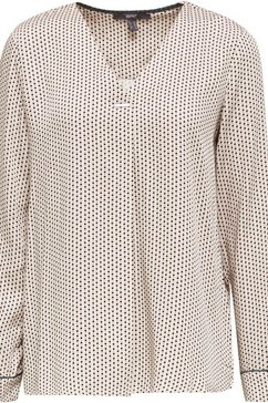 esprit collection gedessineerde blouse wit