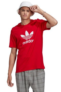 adidas originals t-shirt »trefoil t-shirt« rood