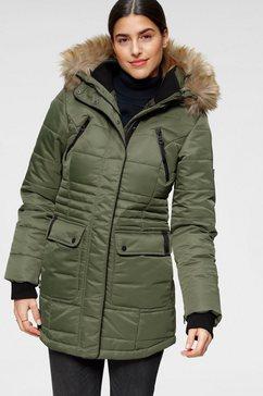 alpenblitz gewatteerde jas »schneeglanz« groen