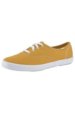 keds sneakers champion core canvas geel