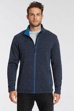 cmp tricot-fleecejack blauw