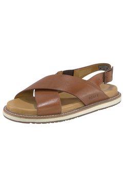 keen sandalen lana cross strap sandal bruin