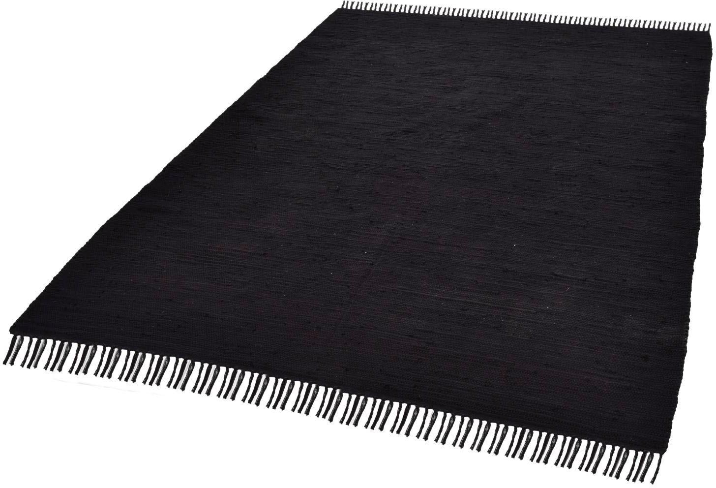 THEKO vloerkleed »Happy Cotton«, rechthoekig, hoogte 5 mm, handgeweven bij OTTO online kopen
