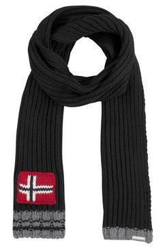 napapijri gebreide sjaal zwart