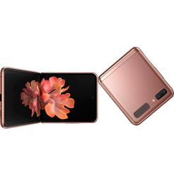 samsung smartphone galaxy z flip 5g 3 jaar garantie bruin