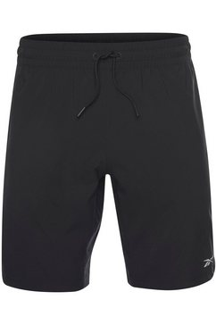 reebok short »work out ready woven short« zwart