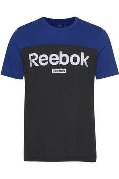 reebok t-shirt blauw