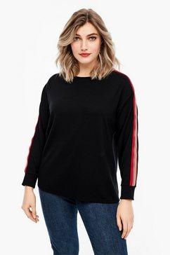 triangle sweater zwart