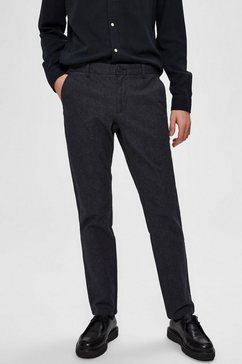 selected homme chino »slim-arval pants« grijs