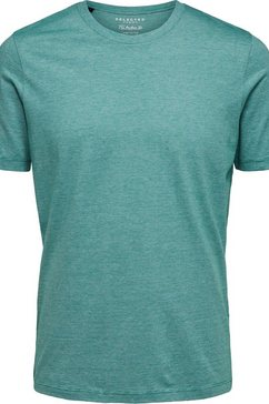 selected homme t-shirt »the perfect mel o-neck tee« groen