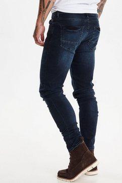 blend skinny fit jeans »echo multiflex« blauw