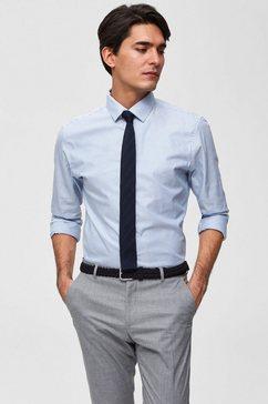 selected homme overhemd met lange mouwen »mark shirt« blauw