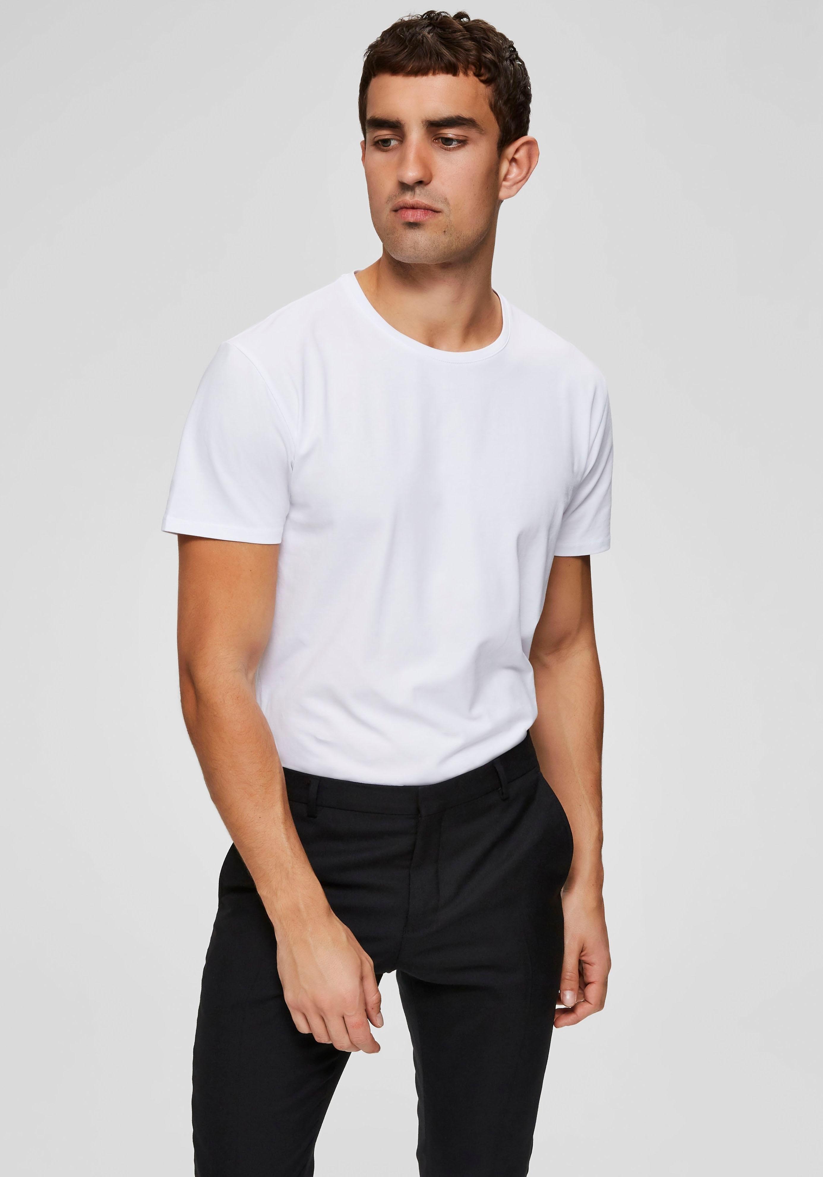 Op zoek naar een Selected Homme T-shirt »NEW PIMA O-NECK TEE«? Koop online bij OTTO