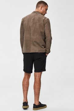 selected homme bermuda »straight-paris shorts« zwart