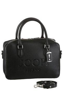 joop jeans tas »lettera yva handbag shz« zwart