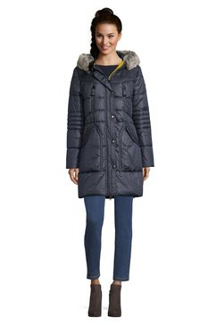 betty barclay outdoorjas met capuchon blauw