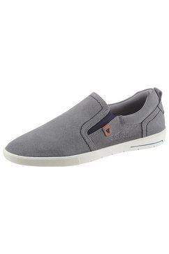 s.oliver slip-on sneakers grijs
