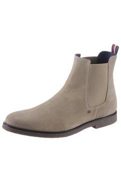 mercedes benz x tommy hilfiger chelsea-boots »mb chelsea boot 1b« bruin