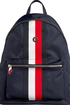tommy hilfiger rugzak »poppy backpack corp« blauw