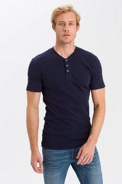 cross jeans t-shirt »15495« blauw
