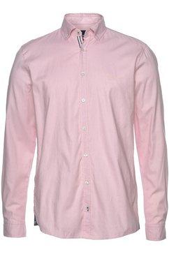 joop jeans overhemd met lange mouwen »slim fit 'haven-w'« rood
