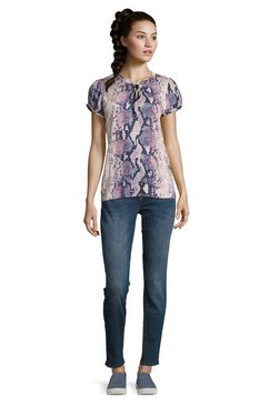 bettyco blouse met ruches blauw