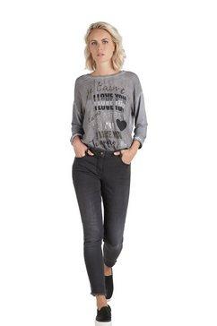 public skinny fit jeans in 7-8 lengte zwart