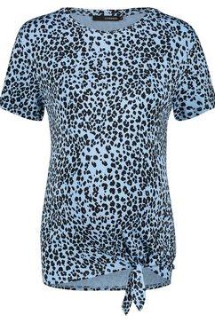 supermom t-shirt »animal knot« blauw