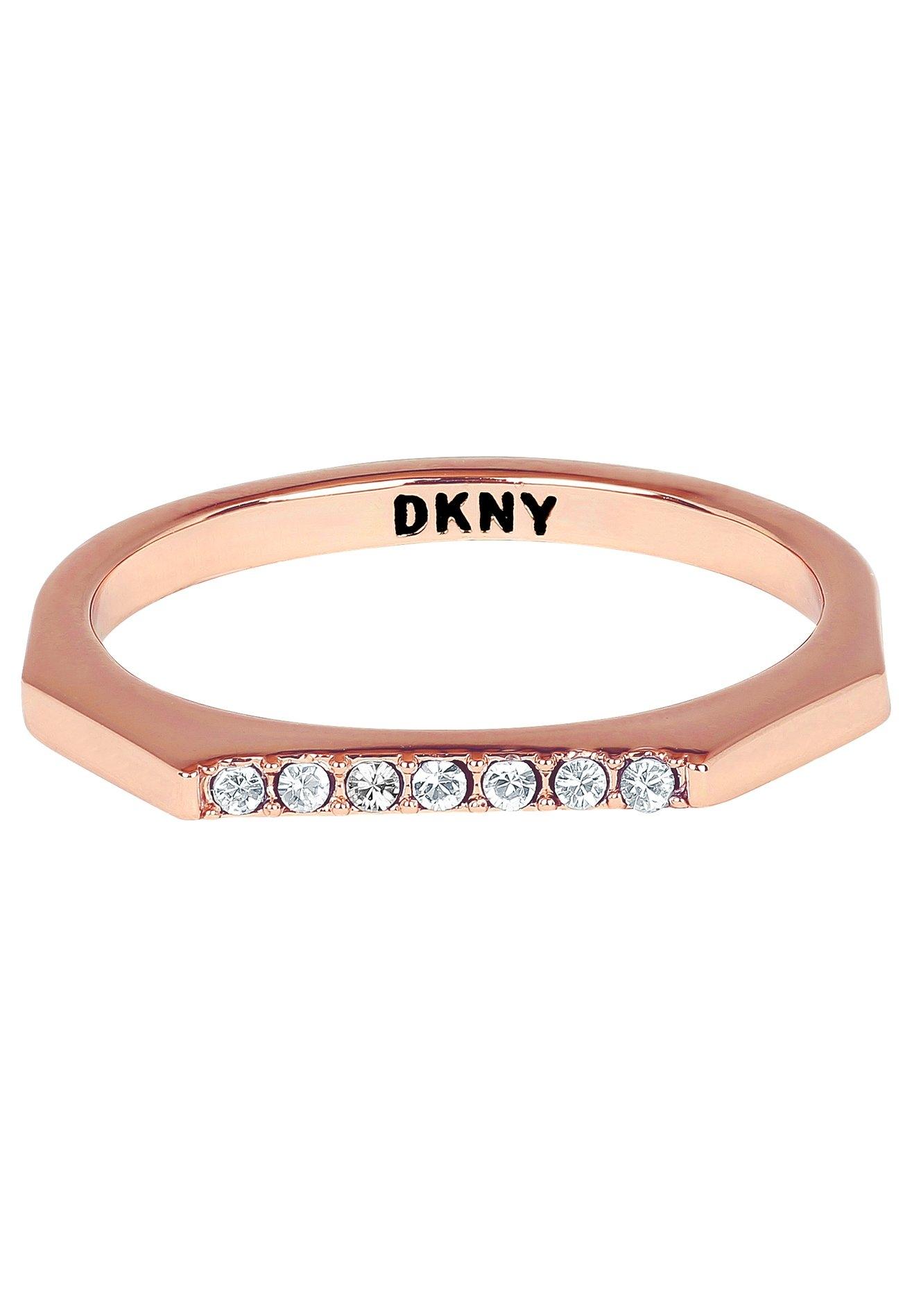 DKNY ring New York Skinny Pave RG (RG), 5548761, 5548762, 5548763 met swarovski®-kristallen nu online bestellen
