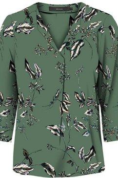 vero moda gedessineerde blouse »vmsus« groen