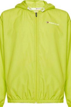 tommy sport windbreaker »windbreaker logo« geel