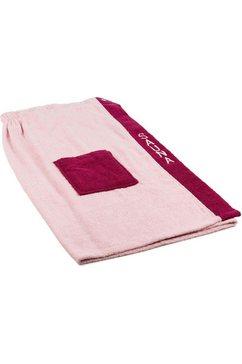 goezze sarong »damen wellness«, goezze roze