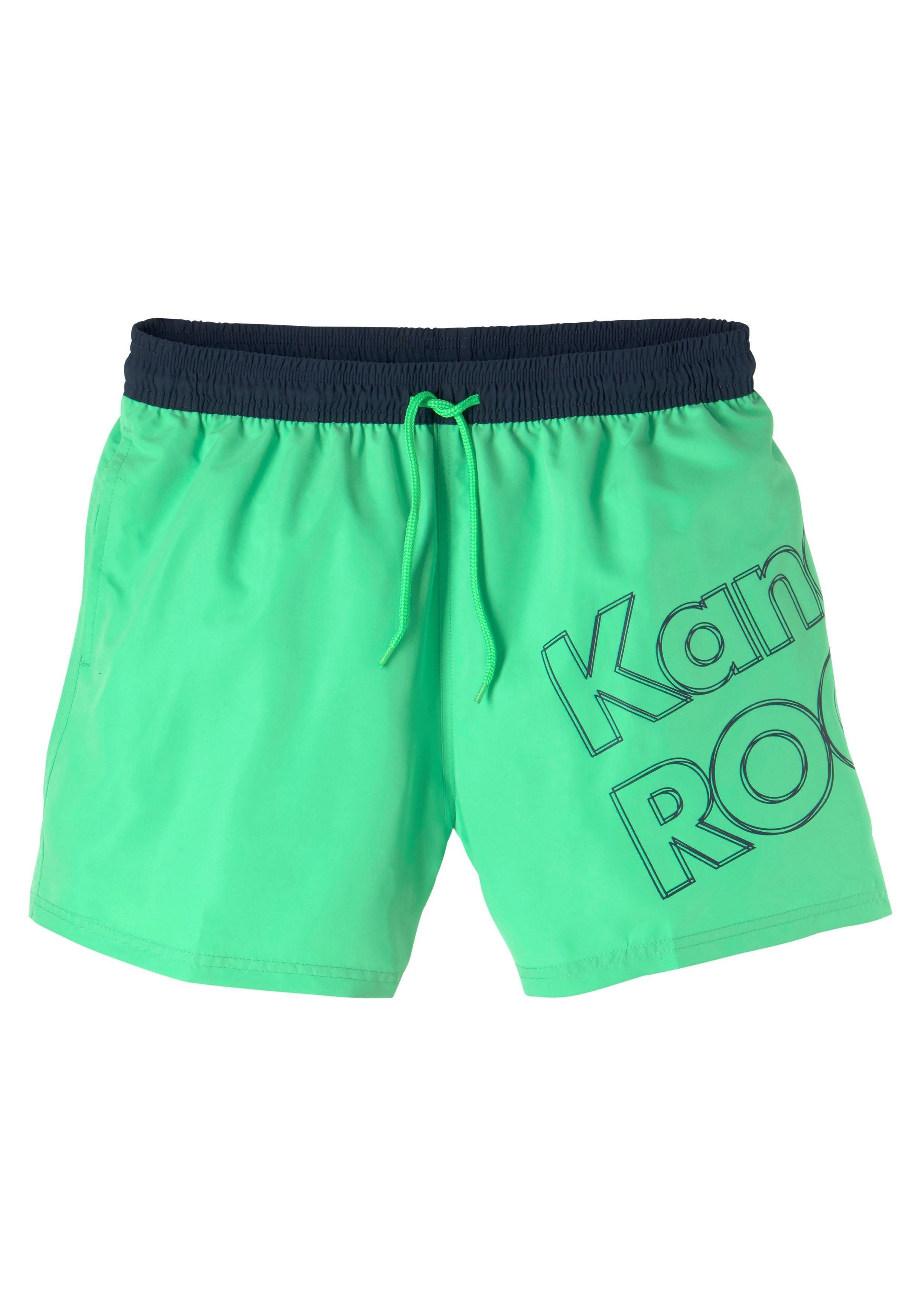 KangaROOS Zwemshort met groot logo-opschrift bestellen: 30 dagen bedenktijd
